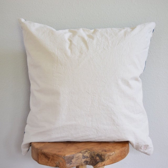 Pink Stitch & Peruvian Ribbon Pillow - Image 3 of 5