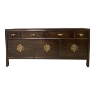 Vintage Chinoiserie Credenza by Century Furniture— Custom Colors Available For Sale