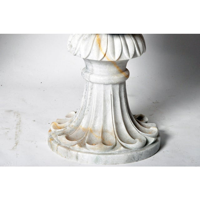 2010s Pair of Marble Jardinières For Sale - Image 5 of 11