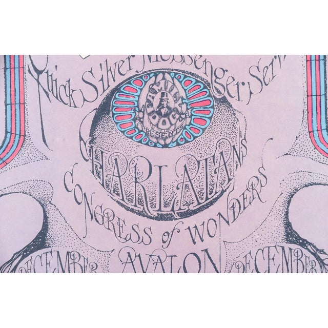 """Vintage """"The Charlatans"""" 1967 Concert Poster For Sale In Los Angeles - Image 6 of 10"""