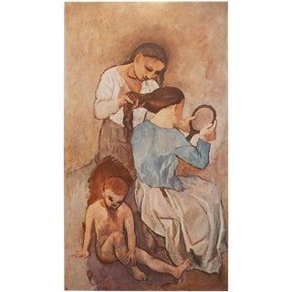 Picasso La Coiffure Period Lithograph