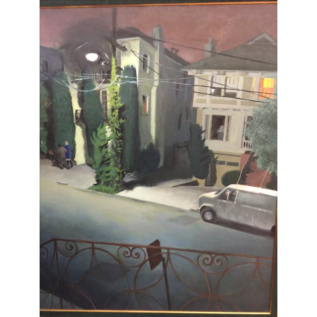 Nicolette Ausschnitt Oil Painting For Sale - Image 4 of 7