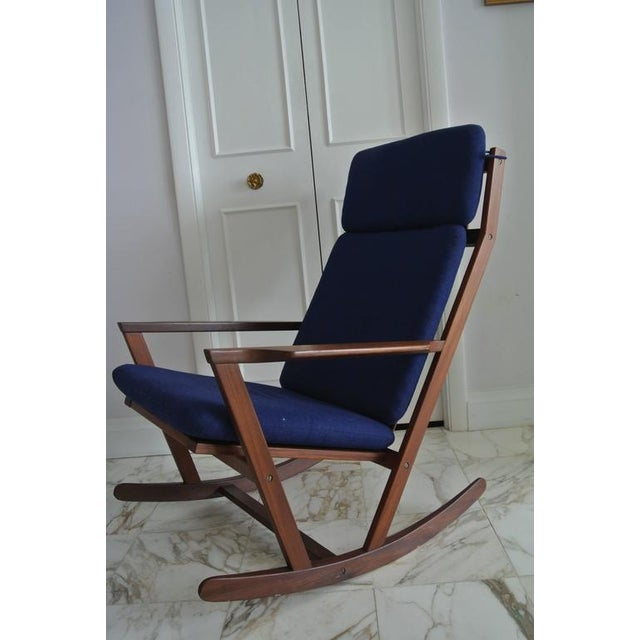 Rocking Chair by Poul Volther For Sale - Image 9 of 9