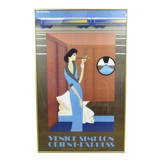 "1981 Pierre Fix-Masseau ""Orient Express"" Poster Print For Sale"