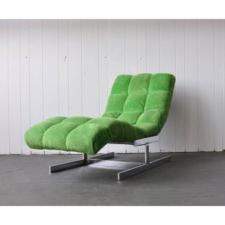 Milo Baughman Style Chaise Preview