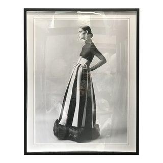 Fashion Model Photograph, Framed For Sale