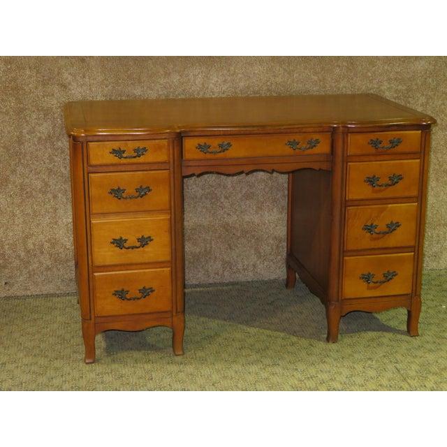 1970s 1970s French Provincial Sligh Partner Desk For Sale - Image 5 of 13