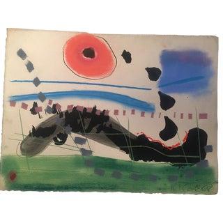 1968 Robert Cooke Original Painting For Sale