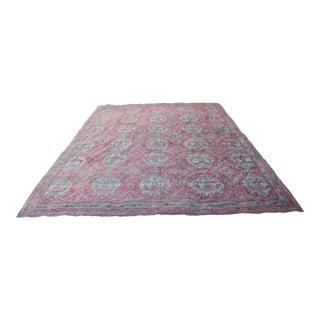Antique Oushak Carpet - 18' X 16' For Sale