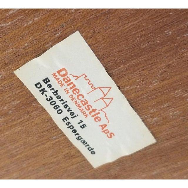 Danecastle Aps Rosewood Adjustable Bedside Desk or Table For Sale - Image 10 of 13