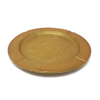 Large Mid-Century Modern Brass Ashtray Preview