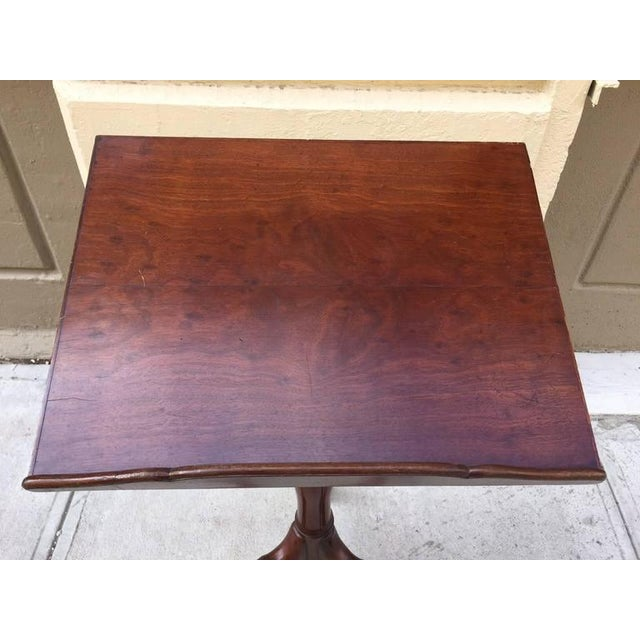 Georgian Mahogany Adjustable Dictionary / Music Stand With Carved Shoe Feet - Image 4 of 9
