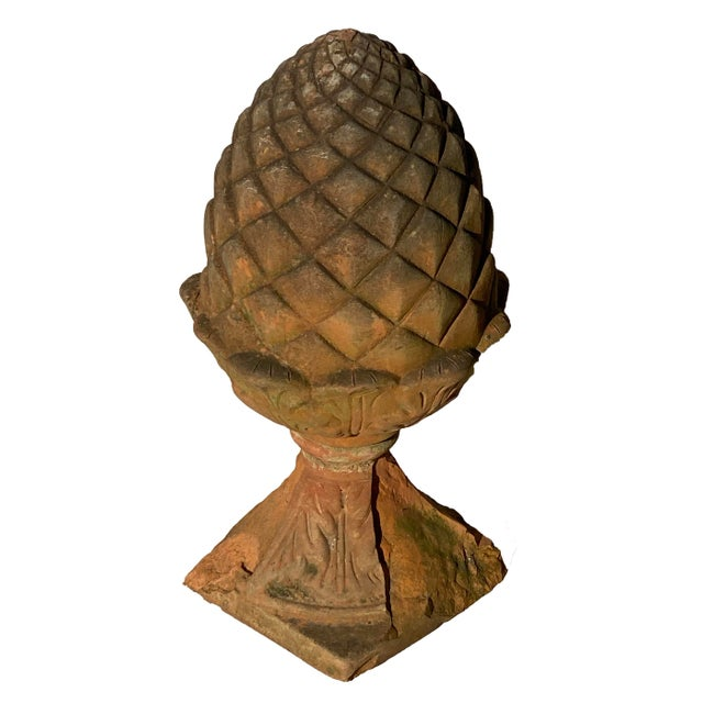 19th Century Terra Cotta Acorn Finial For Sale - Image 9 of 9