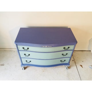 1940s French Provence Style Decor Painted Mahogany Dresser Preview
