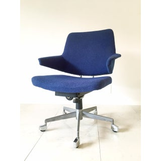 Vintage Duba of Denmark Swivel Chair in Blue Preview