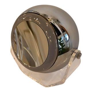 Robert Sonneman Makeup Vanity Chrome Mirror Lamp