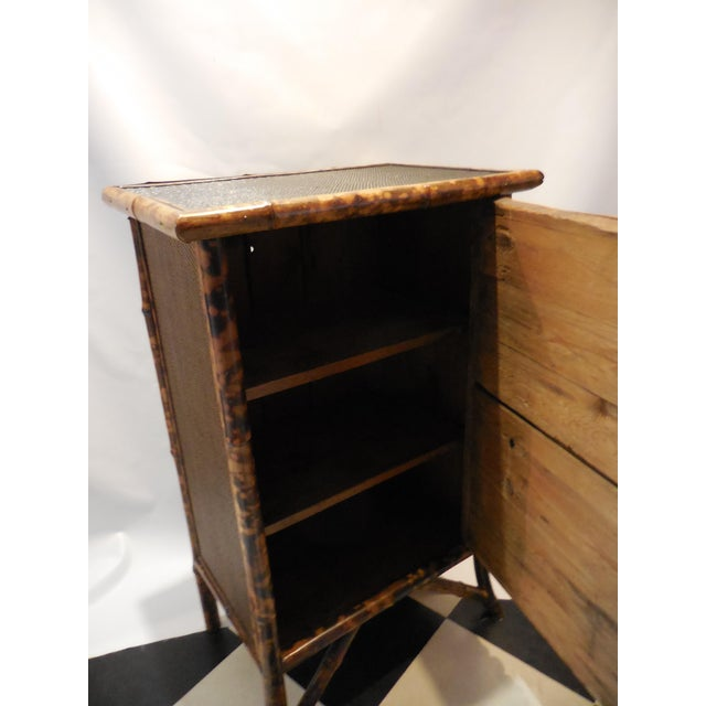 Bamboo Library Cabinet - Image 6 of 8