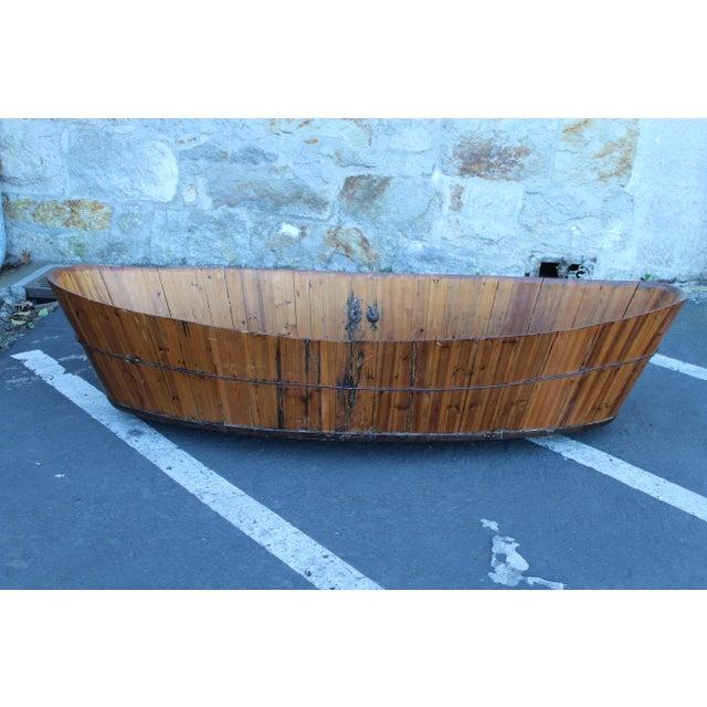 Incredible Antique Japanese Soaking Tub | DECASO