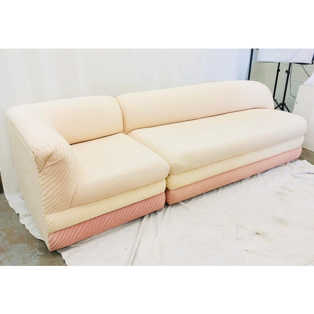 Mid 20th Century Vintage Art Deco Modern Sofa For Sale - Image 5 of 13