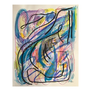 Jessalin Beutler Original Abstract Art on Paper For Sale