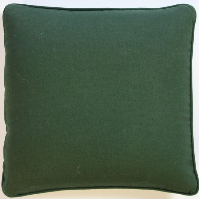 Pair of Race Track Canvas Pillows For Sale - Image 5 of 8