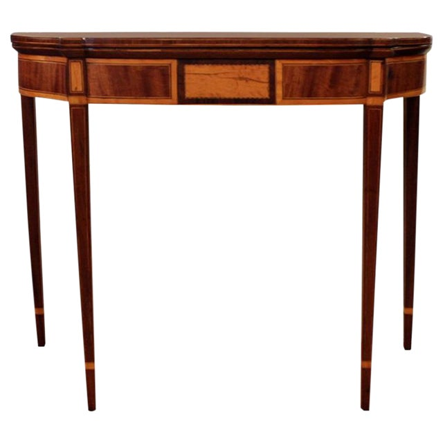 19th Century Federal Style Game Table For Sale