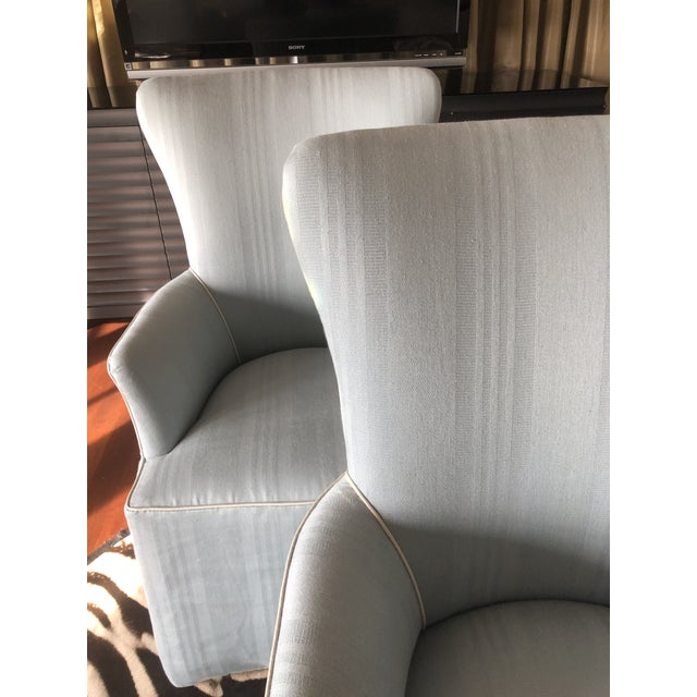 These gorgeous well-made hostess chairs are crafted by high end California-based design icon Nancy Corzine. The custom...