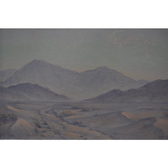 Jean Coutts Desert Landscape Oil Painting - Image 3 of 4