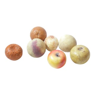 Italian Stone Fruit - 7 Pieces For Sale