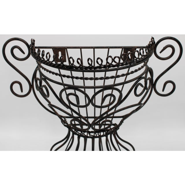 French Garden Wall Jardiniere For Sale - Image 4 of 12