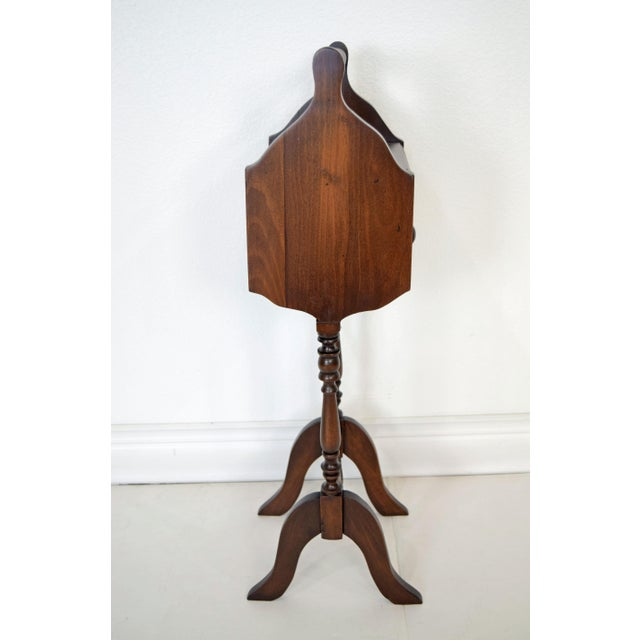 Traditional 1900's Vintage Sewing Storage Side Table For Sale - Image 3 of 13