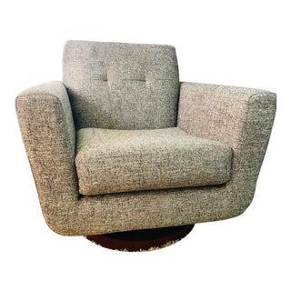 Mid-Century Modern Joybird Hughes Swivel Chair