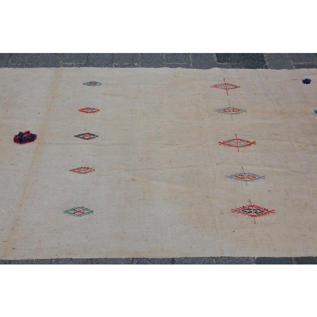 Anatolian Turkish Kilim - 10'11'' x 3'8'' - Image 7 of 11
