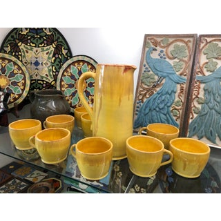 1920s Malibu Potteries 1926 Tea Set Made for the Rindge Family - Set of 11 Preview