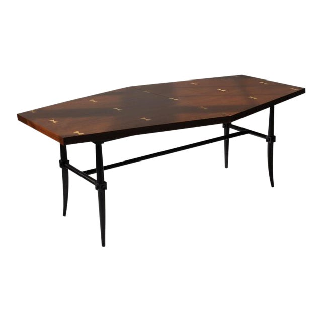 Rare Dining Table by Tommi Parzinger For Sale