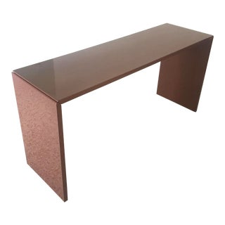 1970s Minimalist Paul Mayen Lacquered Console Table For Sale