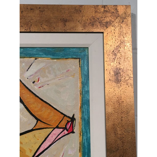 """Isaac Kahn's """"Pirouette""""- Framed Serigraph - Image 5 of 6"""