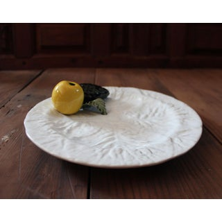 Vintage Majolica Cabbage Trompe l'Oeil Fruit Plate Preview
