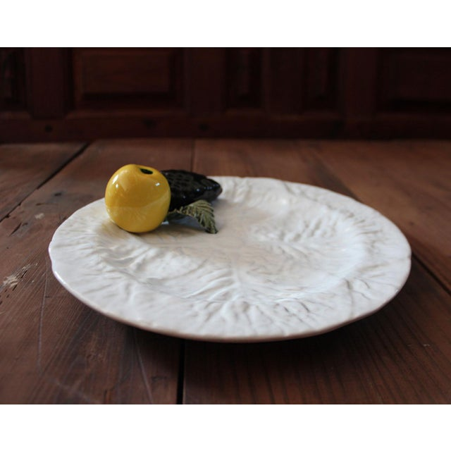 Beautiful and fun decorative plate in great condition. This lovely hand crafted vintage plate is a beautiful addition to...