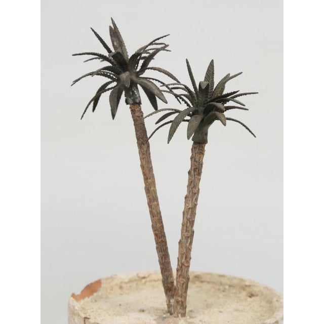French French Metal Palm Trees in Clay Pots For Sale - Image 3 of 13