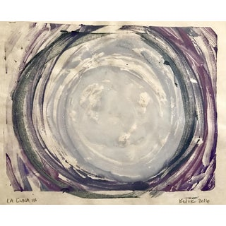 """La Luna III"" Original Monotype Painting"