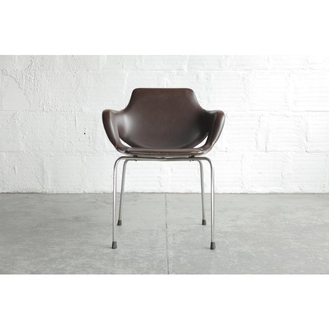 Vintage Mid Century Huonekalutehdas Sopenkorpi Finish Chair For Sale - Image 9 of 9