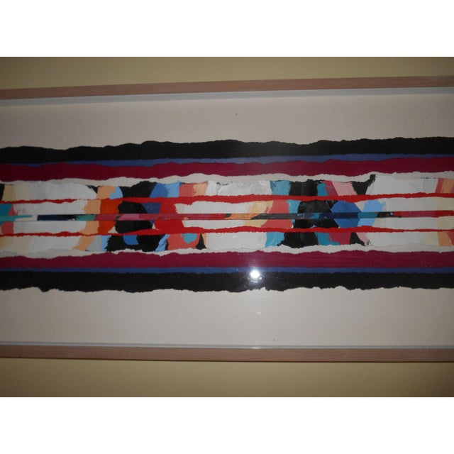 Abstract Art Painting Signed - Image 6 of 6