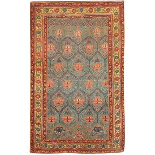 Exceptional Rare Antique 19th Century Persian Bidjar Rug For Sale