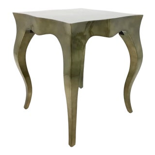 Ferguson Copland Modern Lacquered Bronze Accent Table9278.Y For Sale