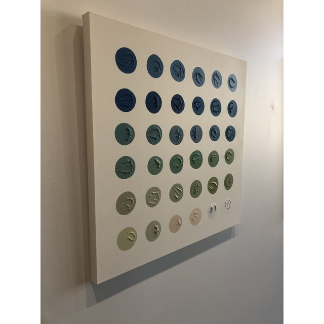 Canvas 'River Water' Minimalism Painting by Logan Ledford For Sale - Image 7 of 7