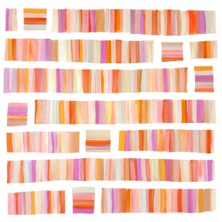 'Conchfritters @ Sunset' Original Abstract Painting by Linnea Heide For Sale