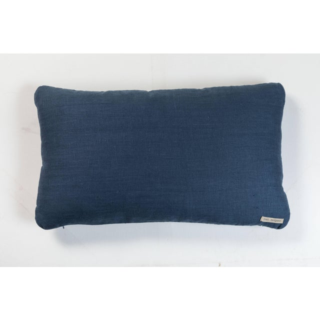 Antique Japanese Boro Textile Pillow For Sale - Image 4 of 5