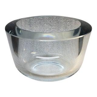 Strombergshyttan Swedish Art Glass Bowl For Sale
