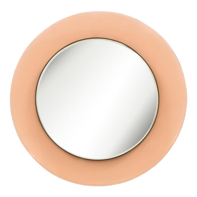 Circular Wall Mirror by Max Ingrand for Fontana Arte For Sale